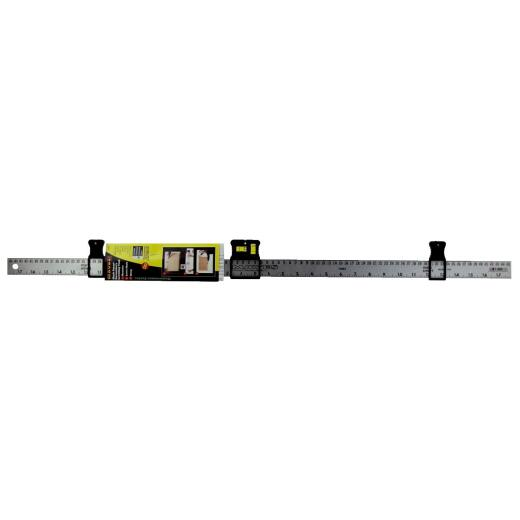 Mayes MarkSmart 36 In. Aluminum Decorating Tool Straight Edge Ruler with Level