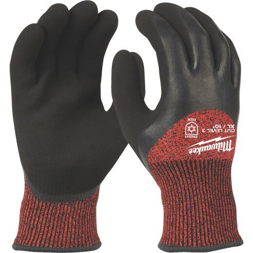 Milwaukee Men's XL Latex Coated Cut Level 3 Insulated Work Glove